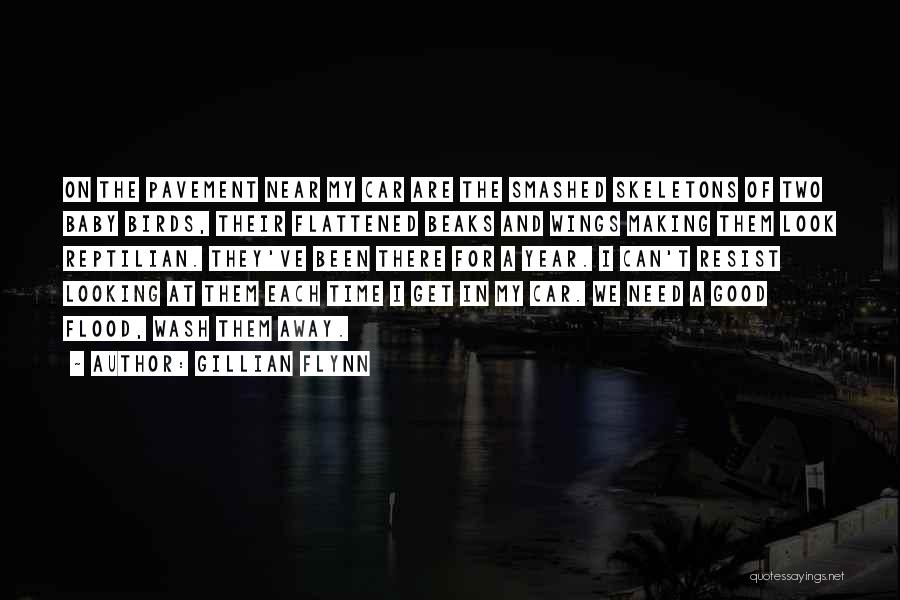 Reptilian Quotes By Gillian Flynn