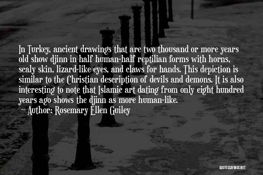 Reptilian Quotes By Rosemary Ellen Guiley