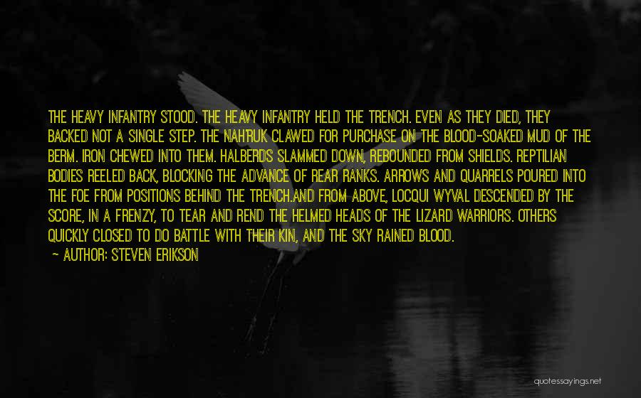 Reptilian Quotes By Steven Erikson