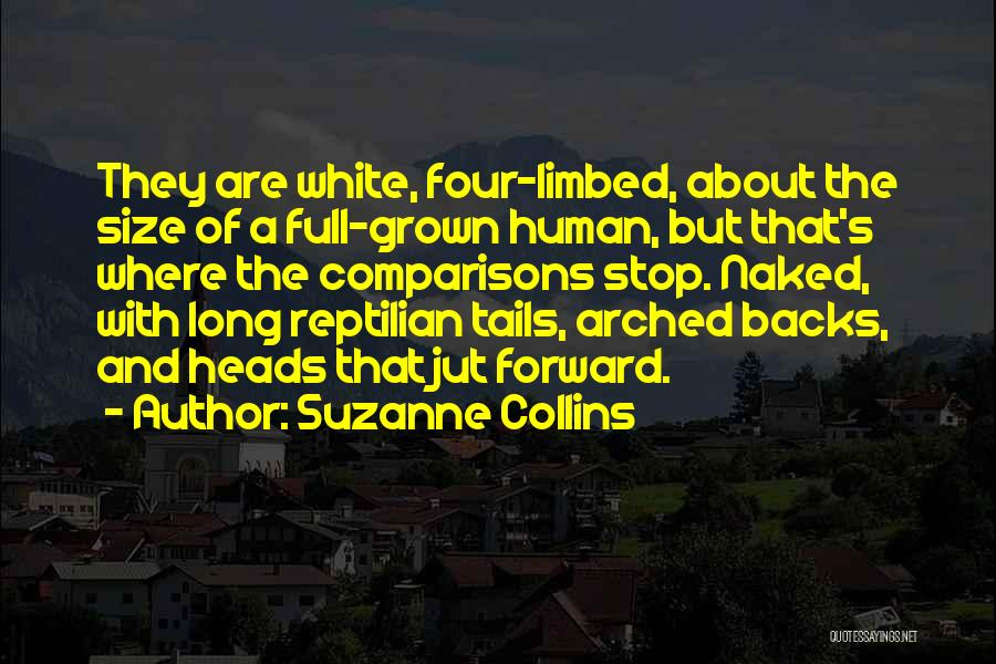 Reptilian Quotes By Suzanne Collins