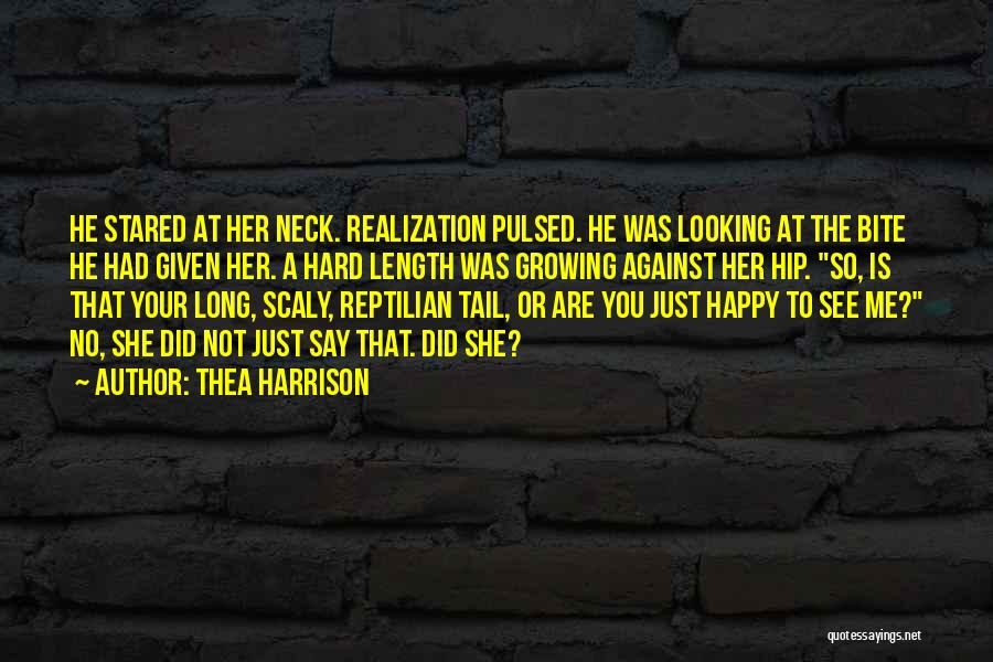 Reptilian Quotes By Thea Harrison