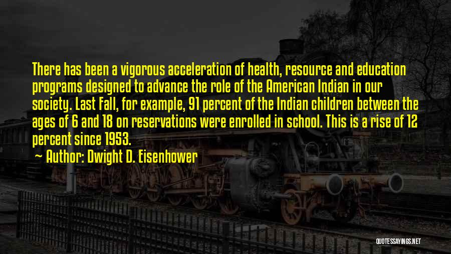 Reservations Quotes By Dwight D. Eisenhower