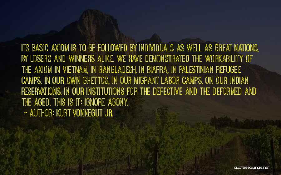 Reservations Quotes By Kurt Vonnegut Jr.