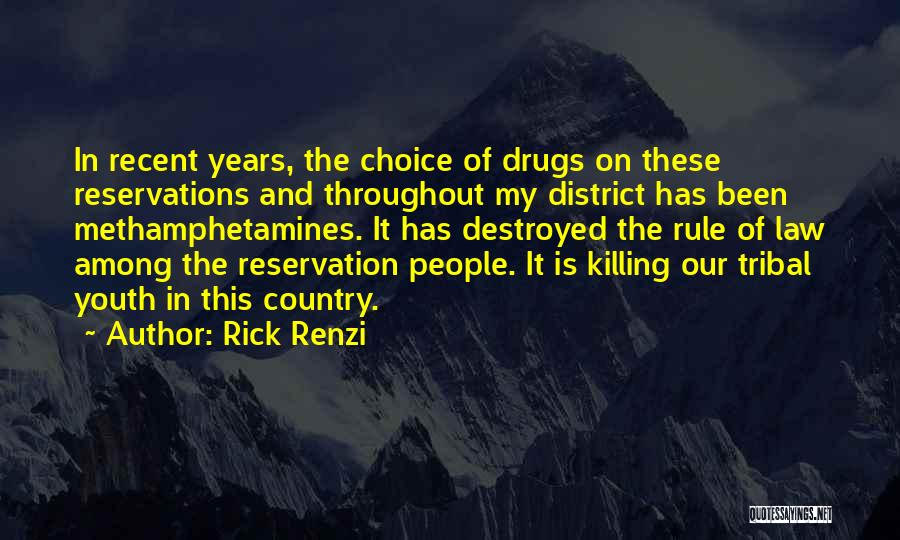 Reservations Quotes By Rick Renzi