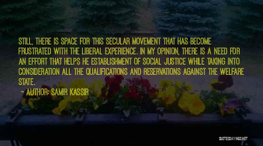 Reservations Quotes By Samir Kassir