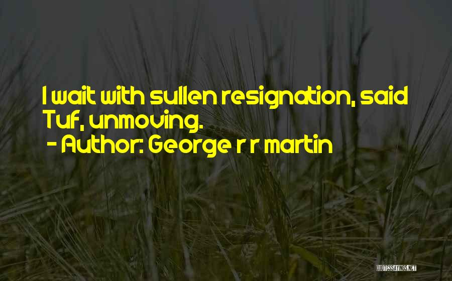 Resignation Quotes By George R R Martin
