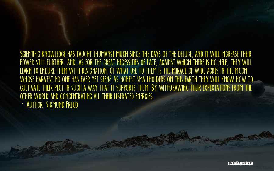 Resignation Quotes By Sigmund Freud