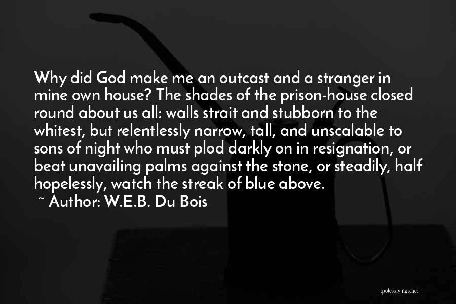 Resignation Quotes By W.E.B. Du Bois