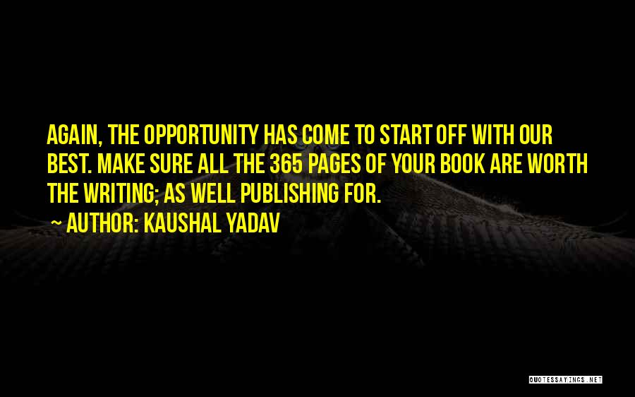 Resolution New Year Quotes By Kaushal Yadav