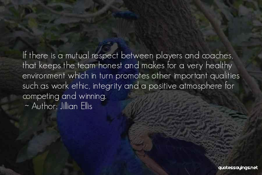 Respect For The Environment Quotes By Jillian Ellis