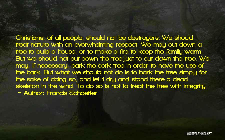 Respect The Dead Quotes By Francis Schaeffer