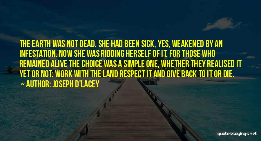 Respect The Dead Quotes By Joseph D'Lacey