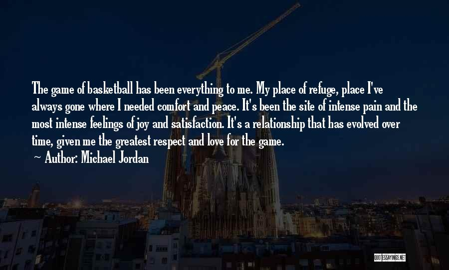 Respect The Game Basketball Quotes By Michael Jordan