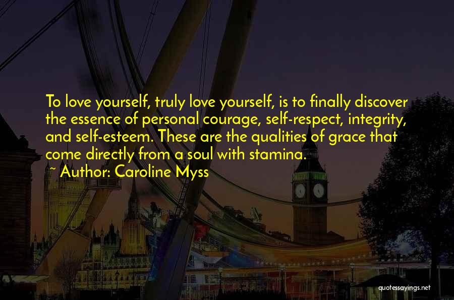 Respect To You Quotes By Caroline Myss