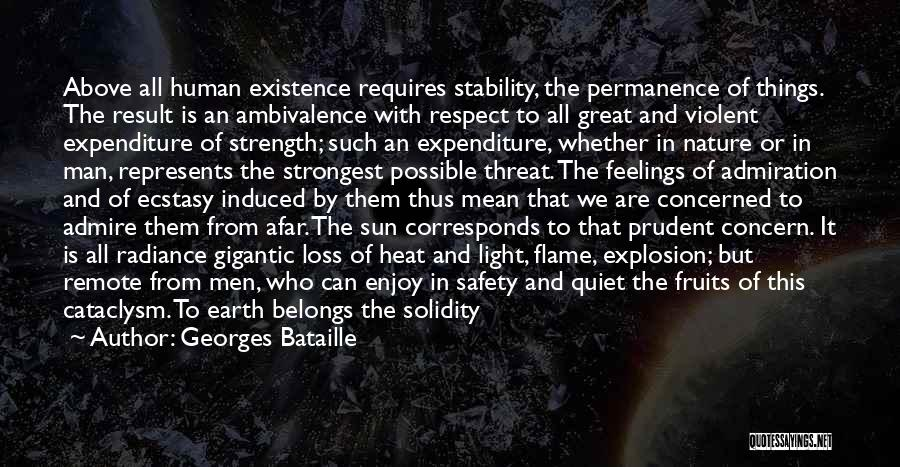 Respect Your Feelings Quotes By Georges Bataille