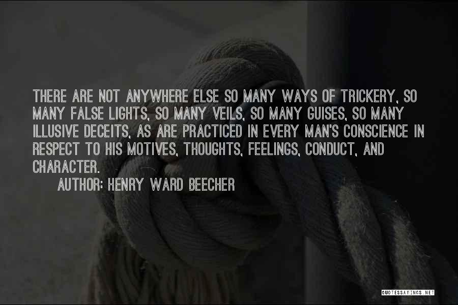 Respect Your Feelings Quotes By Henry Ward Beecher