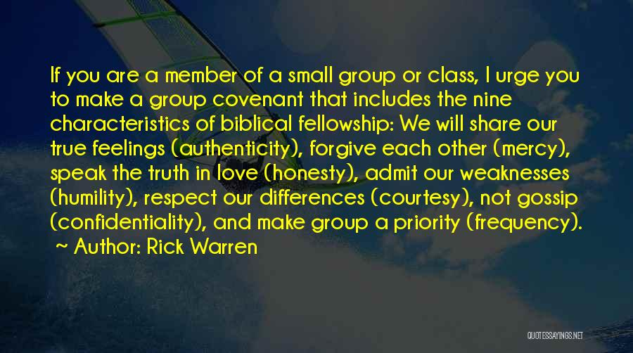 Respect Your Feelings Quotes By Rick Warren