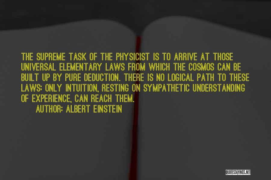 Resting Up Quotes By Albert Einstein