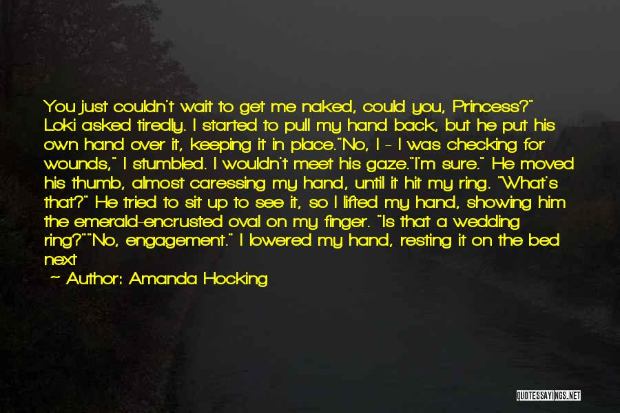 Resting Up Quotes By Amanda Hocking