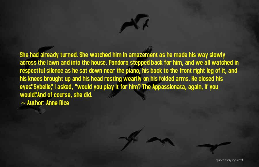 Resting Up Quotes By Anne Rice