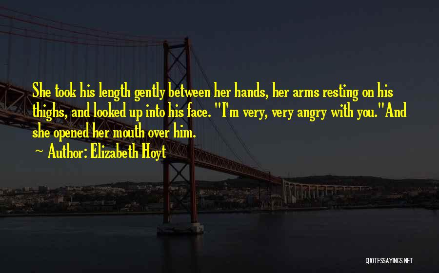 Resting Up Quotes By Elizabeth Hoyt