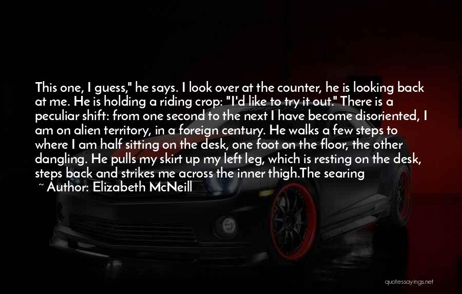 Resting Up Quotes By Elizabeth McNeill