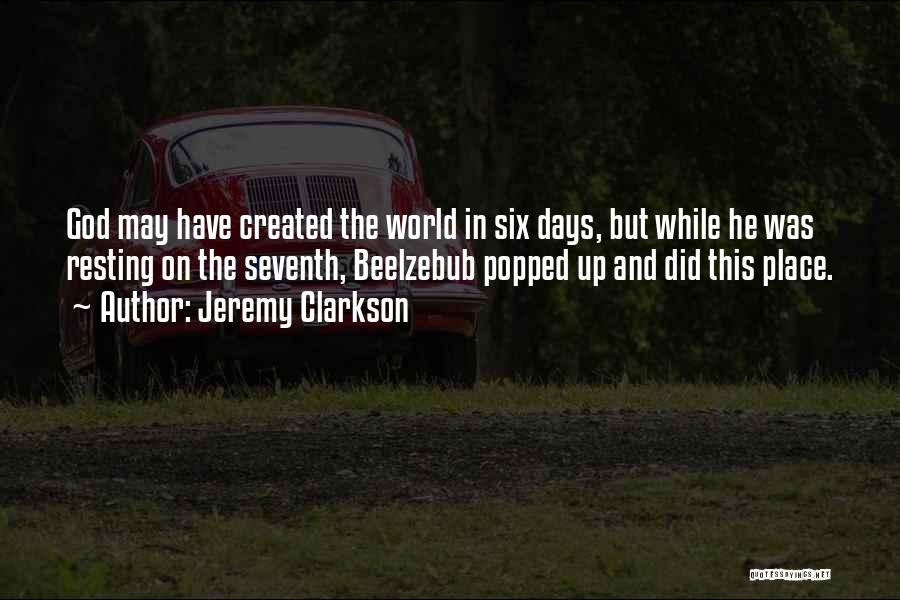 Resting Up Quotes By Jeremy Clarkson