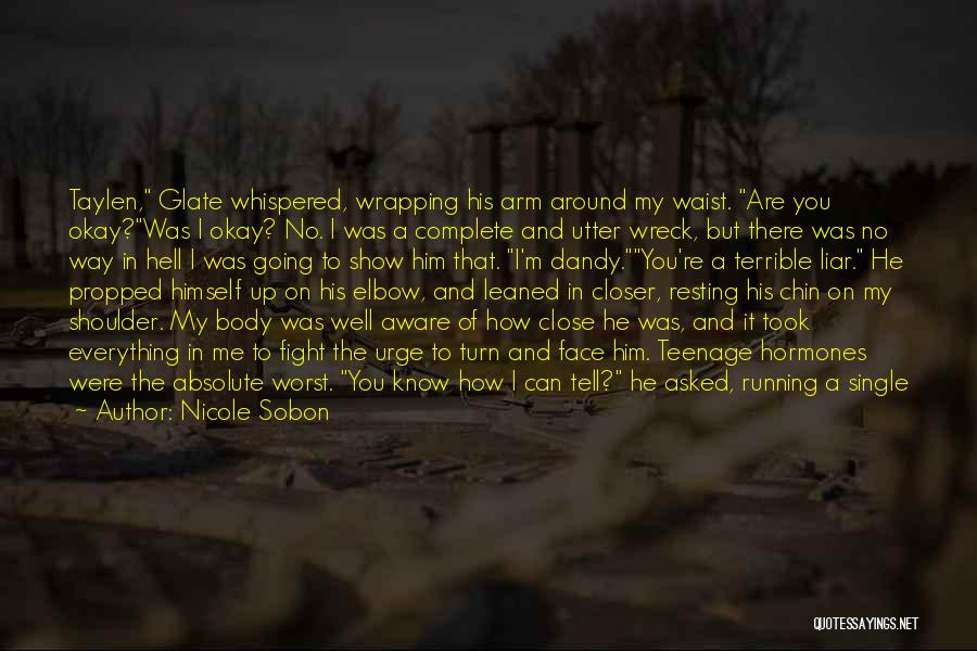 Resting Up Quotes By Nicole Sobon