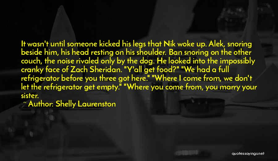 Resting Up Quotes By Shelly Laurenston