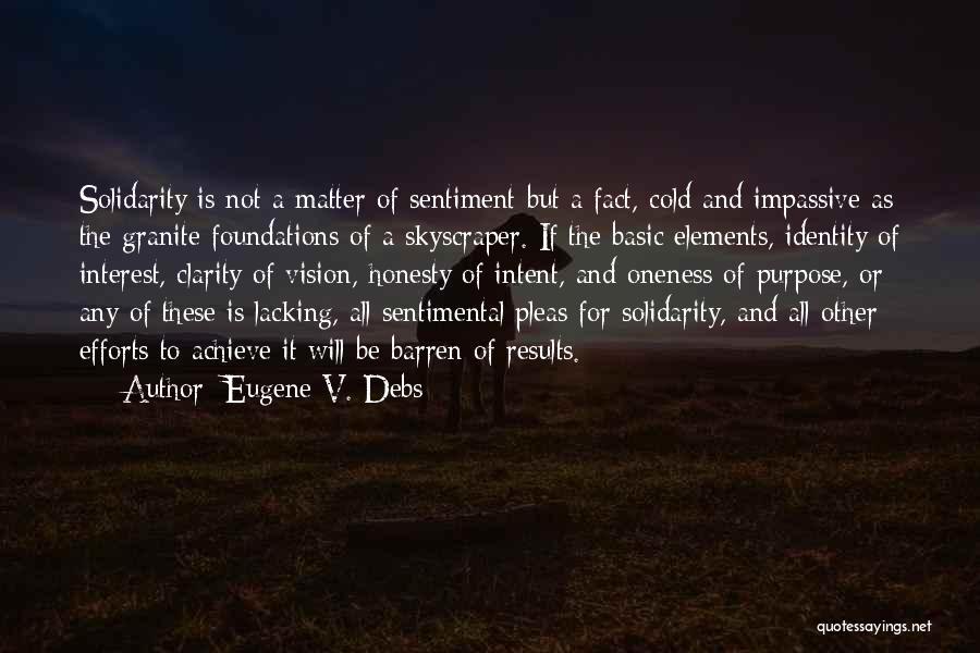 Results And Effort Quotes By Eugene V. Debs