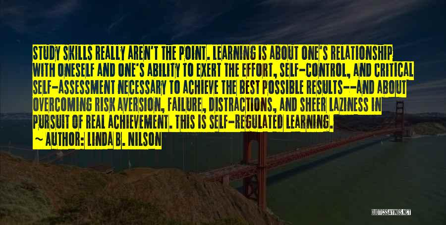 Results And Effort Quotes By Linda B. Nilson
