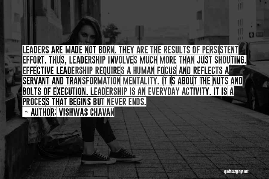 Results And Effort Quotes By Vishwas Chavan