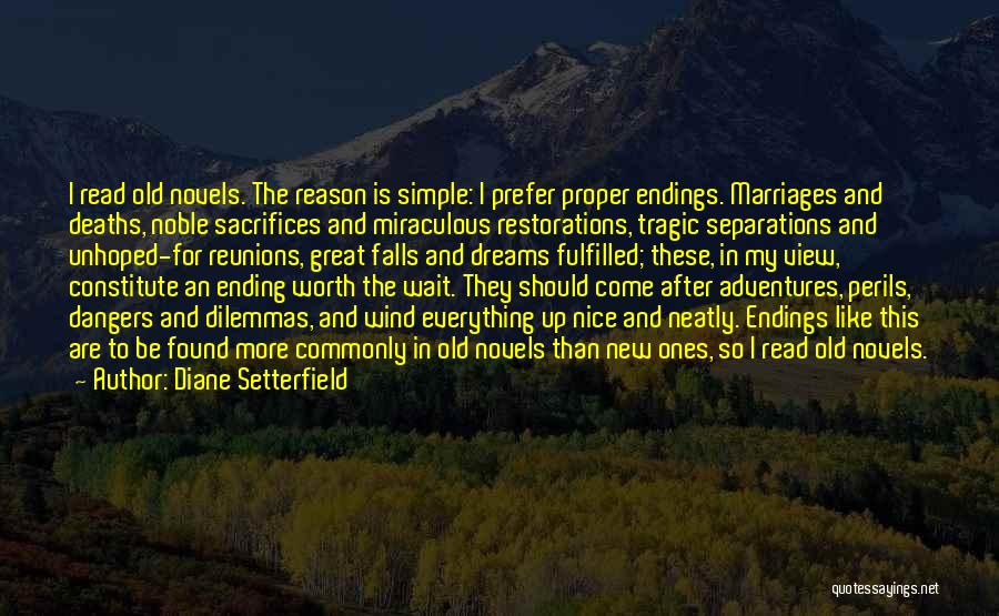 Reunions Quotes By Diane Setterfield