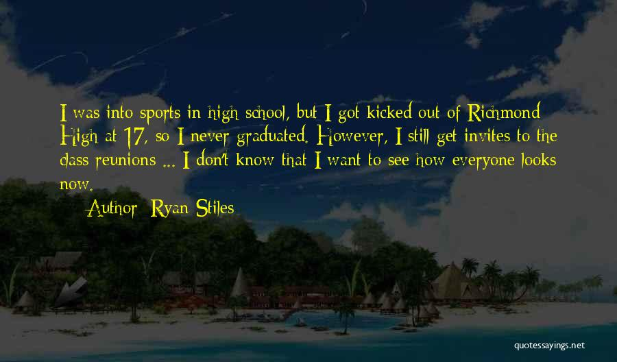Reunions Quotes By Ryan Stiles