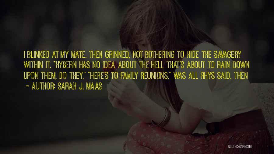 Reunions Quotes By Sarah J. Maas