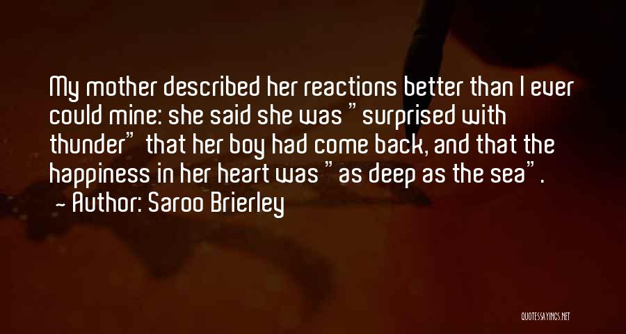 Reunions Quotes By Saroo Brierley
