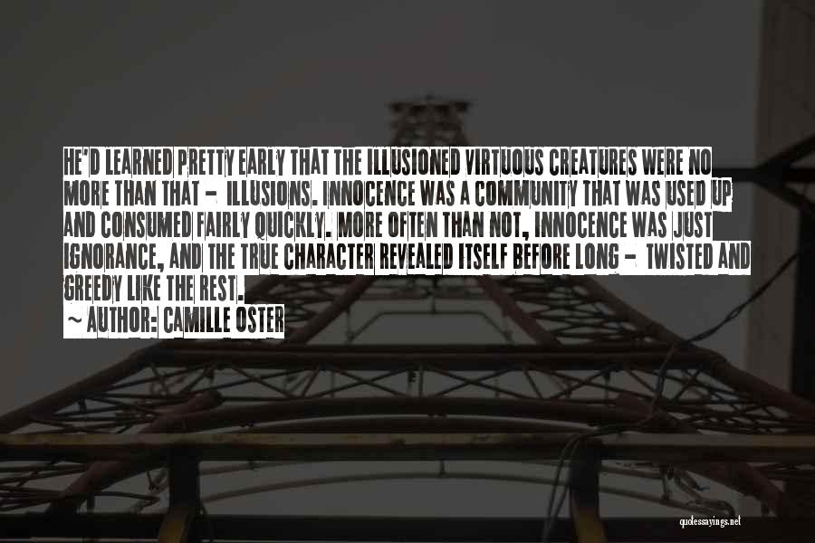 Revealed Quotes By Camille Oster