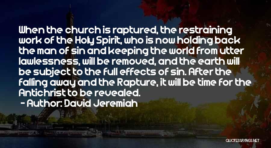 Revealed Quotes By David Jeremiah