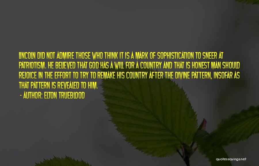 Revealed Quotes By Elton Trueblood