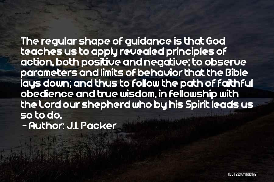 Revealed Quotes By J.I. Packer