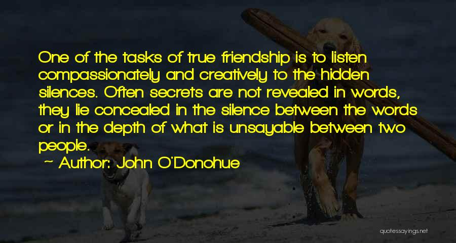 Revealed Quotes By John O'Donohue