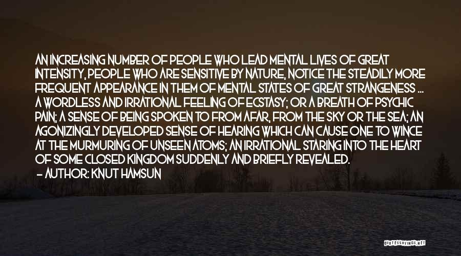 Revealed Quotes By Knut Hamsun