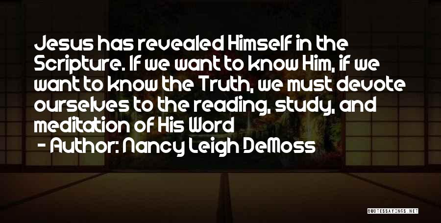 Revealed Quotes By Nancy Leigh DeMoss