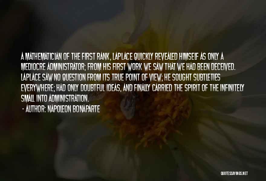 Revealed Quotes By Napoleon Bonaparte