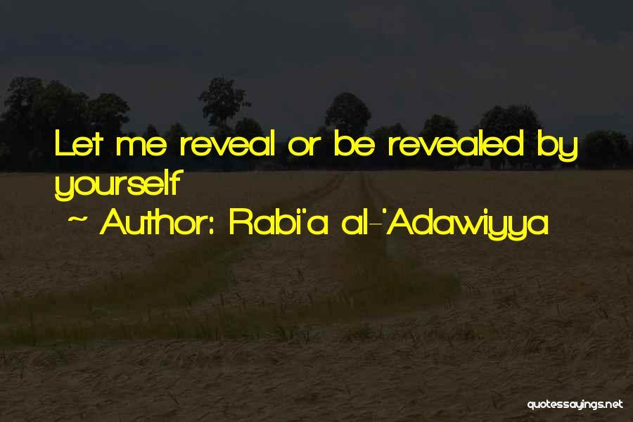 Revealed Quotes By Rabi'a Al-'Adawiyya