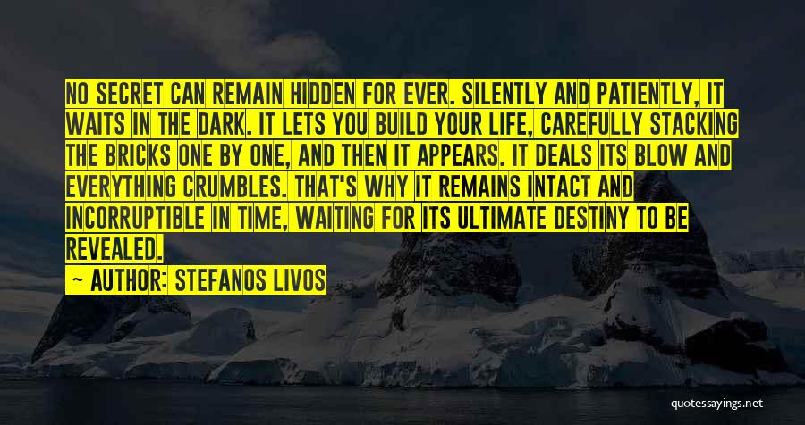 Revealed Quotes By Stefanos Livos
