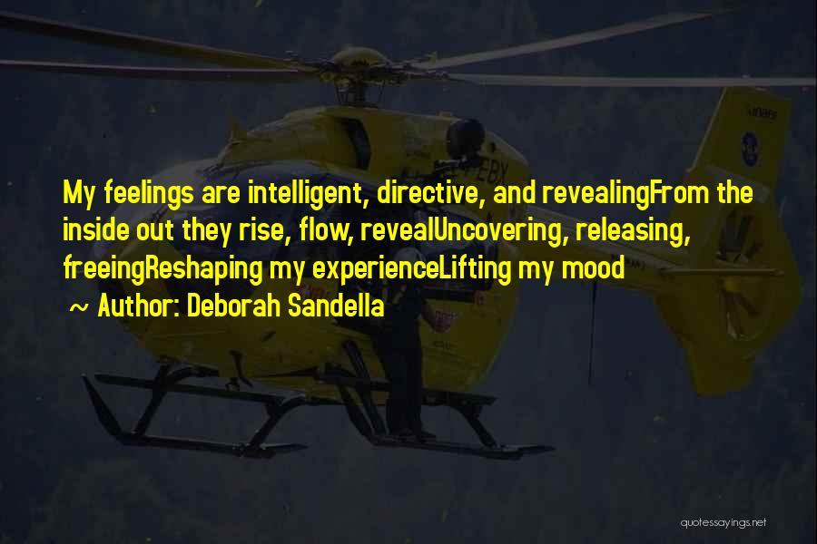Revealing Your Feelings Quotes By Deborah Sandella