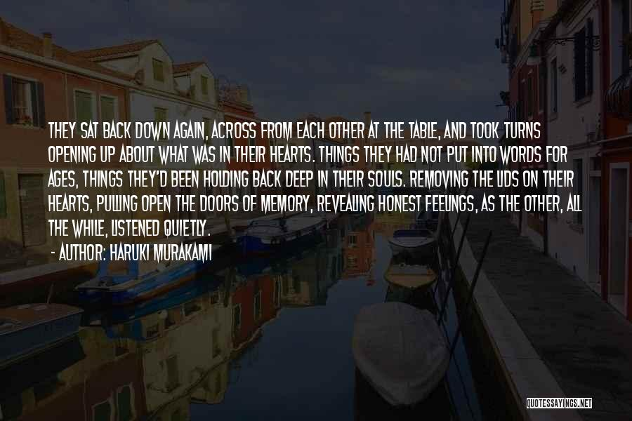 Revealing Your Feelings Quotes By Haruki Murakami
