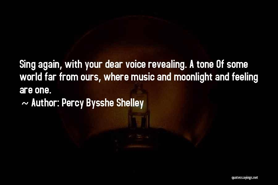 Revealing Your Feelings Quotes By Percy Bysshe Shelley