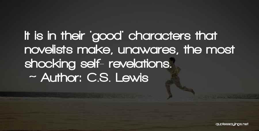 Revelations Quotes By C.S. Lewis